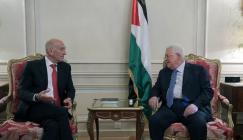 عباس يلتقي اولمرت في باريس