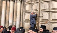 اغلاق كنيسة القيامة في القدس
