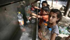 تلوث المياه في غزة