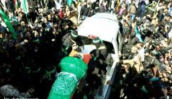 غزة تشيع الشهيد مازن فقهاء الى مثواه الأخير