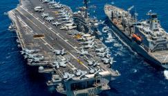 حاملة طائرات أميركية تصل حيفا