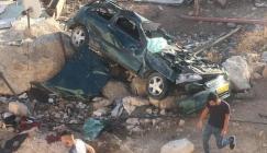 مصرع مواطنين في  حوادث سير بالضفة الغربية