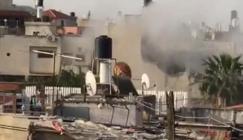 تفجير منزل الشهيد عمر ابو ليلى