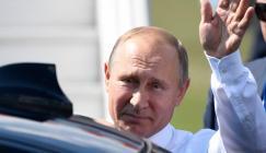 بوتين في رام الله