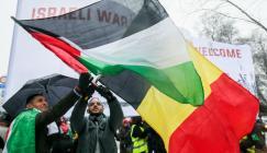 بلجيكا وفلسطين واسرائيل