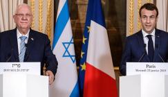 الرئيس الاسرائيلي في فرنسا