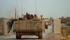 اطلاق نار على قوة اسرائيلية قرب غزة