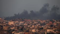 اصابات في قصف اسرائيلي على غزة
