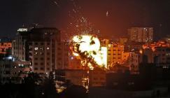 هجوم اسرائيلي على غزة