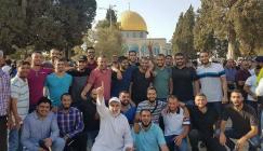 فتح ابواب المسجد الأقصى