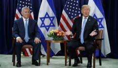 ترامب  والانتخابات في اسرائيل