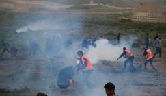 اصابات في قمع الاحتلال لمسيرات العودة
