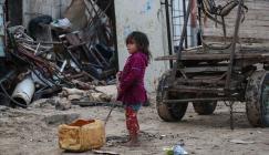 الفقر والبطالة في غزة