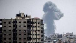 قصف اسرائيلي يستهدف غزة
