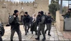 اعتقال سيدة فلسطينية في القدس