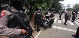 الشرطة الانددونيسية