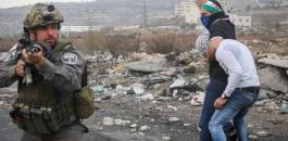 قوة خاصة اسرائيلية تختطف شاب