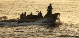 البحرية الاسرائيلية وزوارق الصيادين في غزة