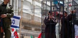 الاسرى المصابون بفيروس كورونا في سجن جلبوع