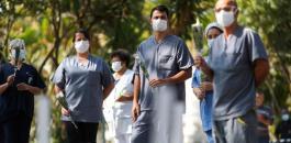 وفيات كورونا في اميركا والبرازيل