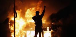 الاحتجاجات في  اميركا والصين