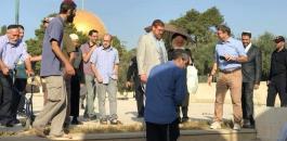 غليك يقتحم المسجد الأقصى