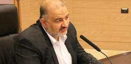 منصور عباس ونتنياهو