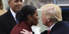 ميشال اوباما وترامب