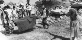المجازر الاسرائيلية بحق منظمة التحرير