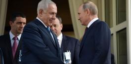 بوتين ونتنياهو وسوريا