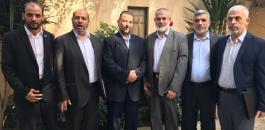 وفد حماس في القاهرة