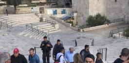 الاحتلال يغلق منطقة باب العامود بزعم العثور على حقيبة مشبوهة