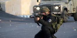 اصابة شاب برصاص الاحتلال في طوباس