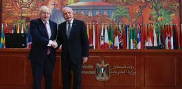 المالكي ووزير الخارجية البريطاني