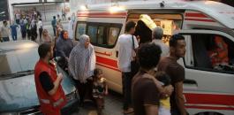 اصابات بغزة
