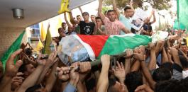 تشييع جثمان الشهيد محمد جبريل في تقوع