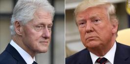 بيل كلينتون وترامب