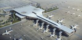 استهداف مطار ابها الدولي