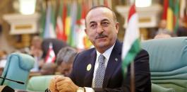 وزير الخارجية التركي وفلسطين