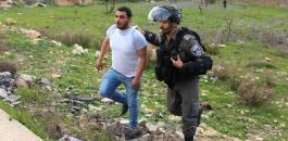 اعتقالات واصابات قرب عوفر