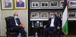 القنصل الاسباني وحسين الشيخ