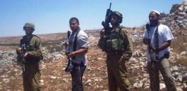 مستوطنون يتسهار يعتدون على مواطنين في عينابوس
