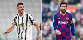 ميسي رونالدو افضل لاعب في اوروبا