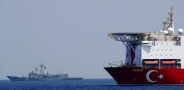تركيا وسفن التنقيب