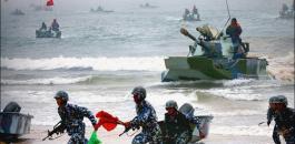 الجيش الايراني والصين وروسيا
