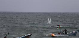استهداف قوارب الصيادين في غزة