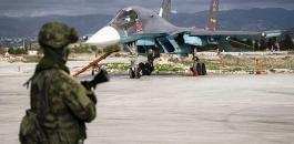 روسيا تسقط طائرة مسيرة قرب قاعدتها الجوية في سوريا