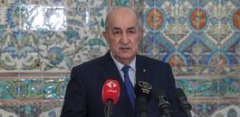 الرئيس الجزائري وفيروس كورونا
