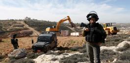 الاستيلاء على اراضي المواطنين في بيت جالا