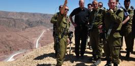Defense-Minister-Yaalon-visit-the-Sinai-border